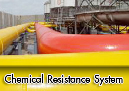 Chemical resistant and steel coating
