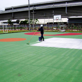 Stadium – sports coating